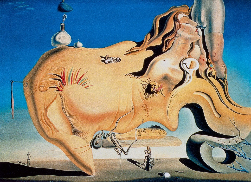 Le grand masturbateur 1929 - Salvador Dali