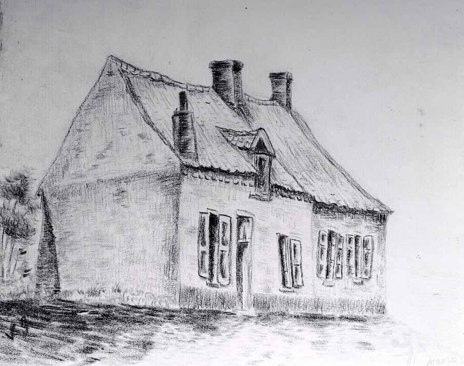 Premiers dessins - Dessin maison de campagne ...